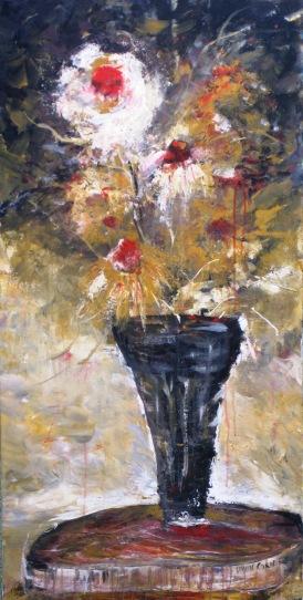 White Flower in Vase 1