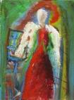 "(c) Dawn Corner 2013 6""x8"" Acrylic on Canvas"