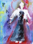 "(c) Dawn Corner 2013 Angel ""Faith"" 6"" x 8"""