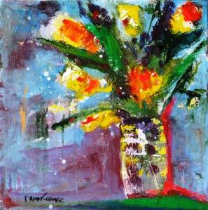 Flowers in Vase 6x6 2014 IMG_0813